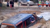 BAHNO SNAD I V ŽALUDKU! Super záběry z autocrossu!