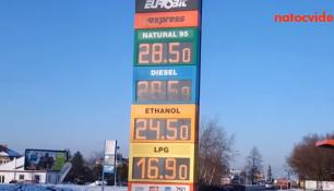 Ceny benzínu se místy liší i o 4 koruny! Jak je to u vás?