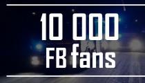 VÝBĚR TOHO NEJLEPŠÍHO! Překonali jsme hranici 10 000 fanoušků na Facebooku