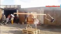 VIDEO DNE: Tohle vás dostane! Řetízák domácí výroby pro dvě děti!
