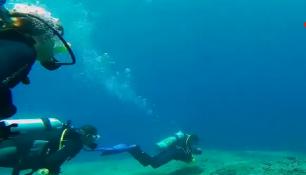 VIDEO DNE:Pohodové potápění na Bali a najednou před vámi trajekt!