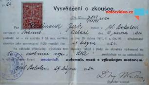 VIDEO DNE: 90 let starý řidičský průkaz! Natočila ho Markéta Nyplová