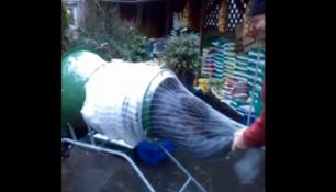 VIDEO DNE: Tenhle vánoční stromek vám doma rozhodně neopadá!