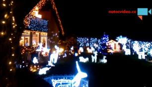VÝZDOBA JAKO Z POHÁDKY! Podívejte se do vánoční zahrady v Uhříněvsi!