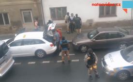 VIDEO: Zatýkání v přímém přenosu!